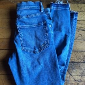High Rise Destroyed Express Jeans 👖